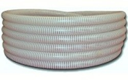 50ft 1.5 inch WHITE/CLEAR flexpvc pipe - 5 Flex PVC Pipe 1-1/2 inch