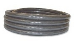 100ft 1.5 inch GRAY flexible pvc pipe - 5 Flex PVC Pipe 1-1/2 inch
