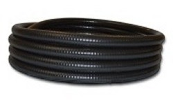 50ft x 3/4 inch BLACK flexible pvc pipe  - 2 Flex PVC Pipe 3/4 inch