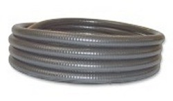 50ft x 3/4 inch GRAY flexible pvc pipe  - 2 Flex PVC Pipe 3/4 inch