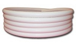 50ft x 3/4 inch white flexible pvc pipe  - 2 Flex PVC Pipe 3/4 inch